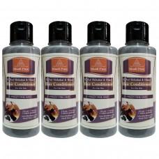 Khadi Pure Herbal Shikakai & Honey Hair Conditioner - 210ml (Set of 4)