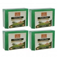 Khadi Pure Herbal Teatree Soap - 125g (Set of 4)