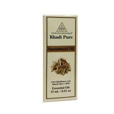 Khadi Pure Herbal Sandalwood Essential Oil - 15ml
