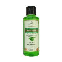 Khadi Pure Herbal Aloevera Face Wash SLS-Paraben Free - 210ml