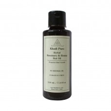 Khadi Pure Herbal Rosemary & Henna Hair Oil - 210ml