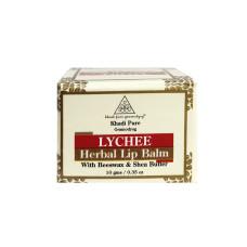 Khadi Pure Herbal Lychee Lip Balm - 10g