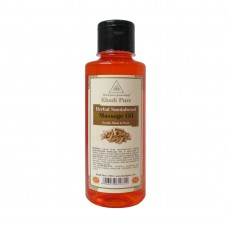 Khadi Pure Herbal Sandalwood Massage Oil - 210ml