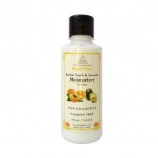 Khadi Pure Herbal Peach & Avocado Moisturizer with Sheabutter SLS-Paraben Free - 210ml