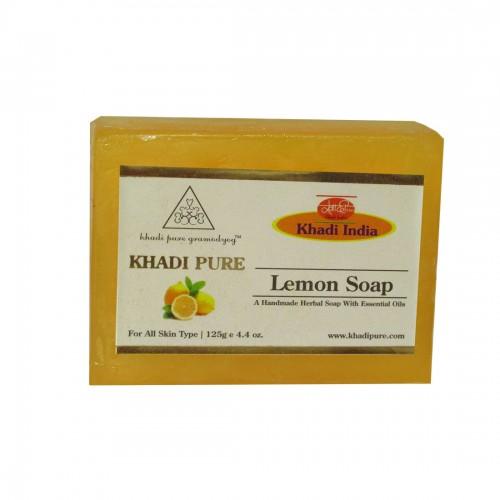 Khadi Pure Herbal Lemon Soap 125g Set Of 4