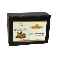 Khadi Pure Herbal Almond Soap - 125g