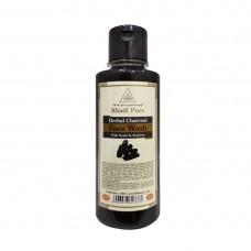 Khadi Pure Herbal Charcoal Face Wash - 210ml