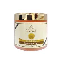Khadi Pure Herbal Gold Massage Gel -100g