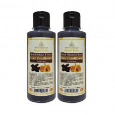 Khadi Pure Herbal Shikakai & Honey Hair Conditioner - 210ml (Set of 2)