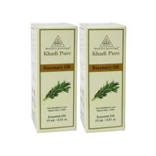 Khadi Pure Herbal Rosemary Essential Oil - 15ml (Set of 2)