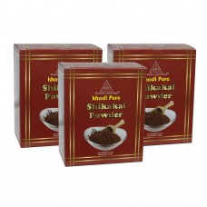 Khadi Pure Herbal Shikakai Powder - 80g (Set of 3)