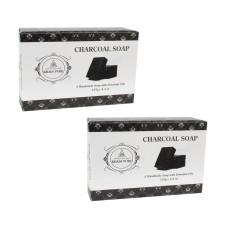 Khadi Pure Herbal Charcoal Soap - 125g (Set of 2)