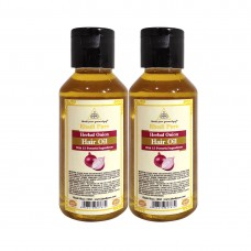 Khadi Pure Herbal Onion Hair Oil - 100ml (Set of 2)