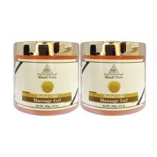 Khadi Pure Herbal Gold Massage Gel -100g (Set of 2)