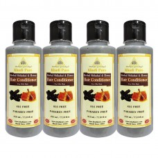 Khadi Pure Herbal Shikakai & Honey Hair Conditioner SLS-Paraben Free - 210ml (Set of 4)