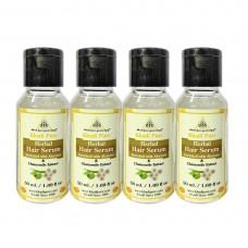Khadi Pure Herbal Hair Serum - 50ml (Set of 4)