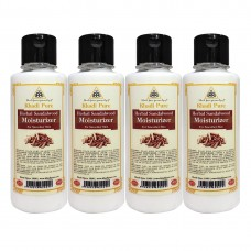 Khadi Pure Herbal Sandalwood Moisturizer - 210ml (Set of 4)