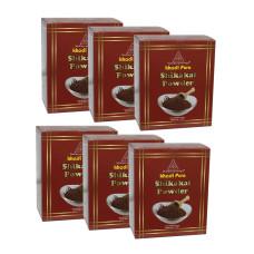 Khadi Pure Herbal Shikakai Powder - 80g (Set of 6)