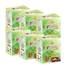 Khadi Pure Herbal Triphala Powder - 80g (Set of 6)