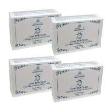 Khadi Pure Herbal Goat Milk Soap - 125g (Set of 4)