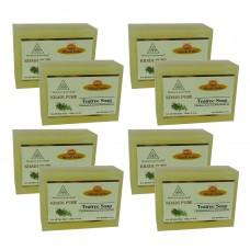 Khadi Pure Herbal Teatree Soap - 125g (Set of 8)